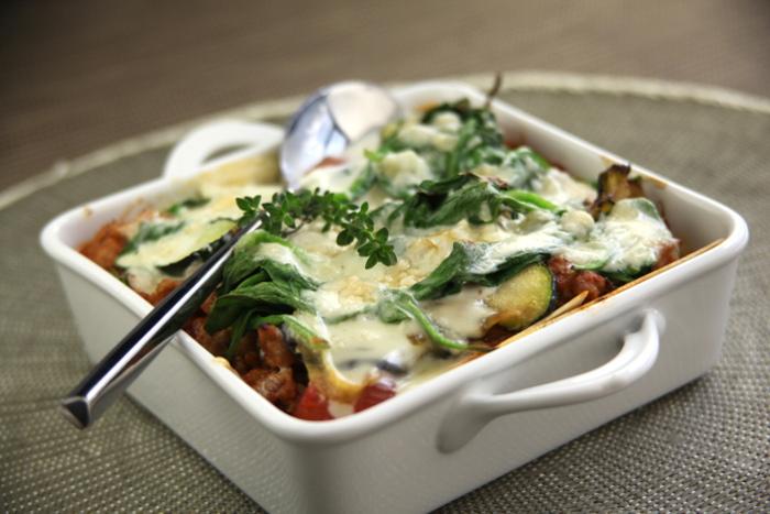 Lasagne de veau sauce Roquefort Tendriade