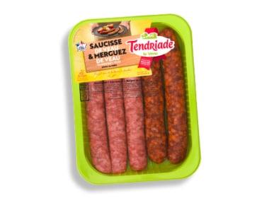 Assortiment saucisses de veau & merguez de veau Tendriade