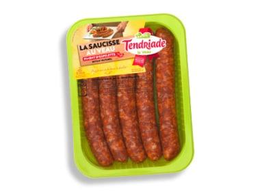 Saucisses de veau au Piment d'Espelette Tendriade
