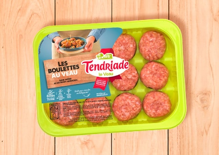 Boulettes de veau Tendriade
