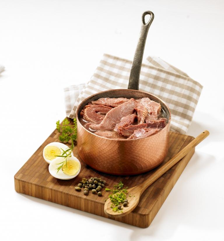 Tete de veau sauce Gribiche recette Tendriade