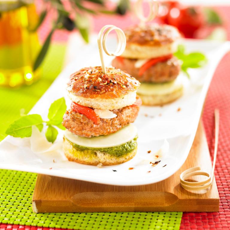 Mini Burger de Veau pour l'apéro