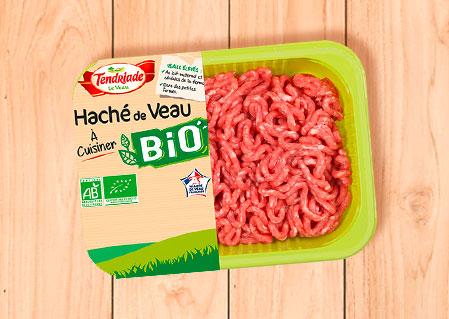 Haché de veau à cuisiner bio - Tendriade