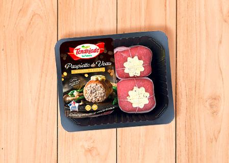 Paupiette de veau beurre truffé