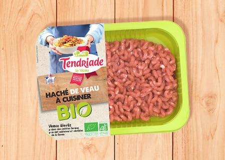 Haché de veau à cuisiner Bio Tendriade