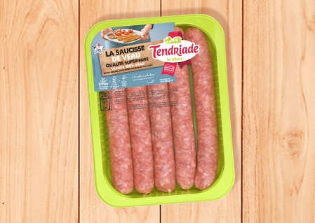 Saucisses de veau supérieures Tendriade