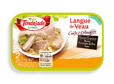 Langue de veau tendriade