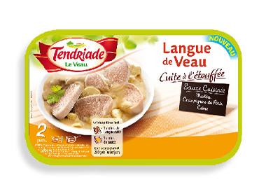 Langue de veau tendriade