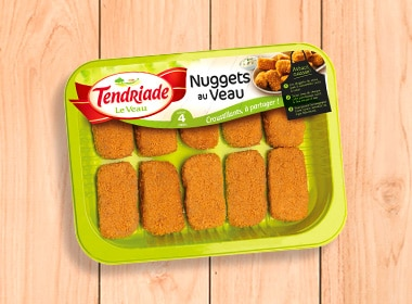 Nuggets de veau Tendriade