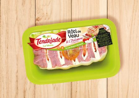Rôti de veau à l'italienne Tendriade