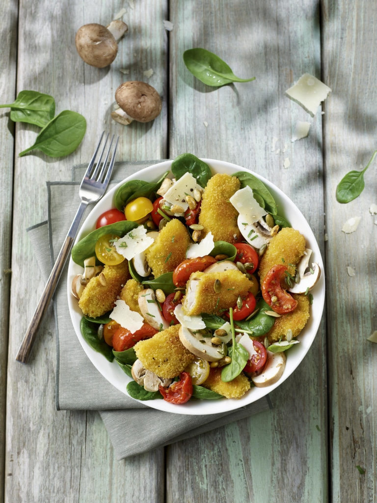 Salade de Veau croustillante Tendriade