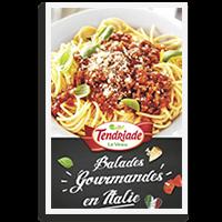 Livret de recettes italiennes - Tendriade